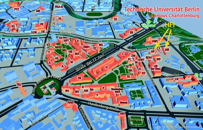 Tu Berlin Auswahlgrenzen
